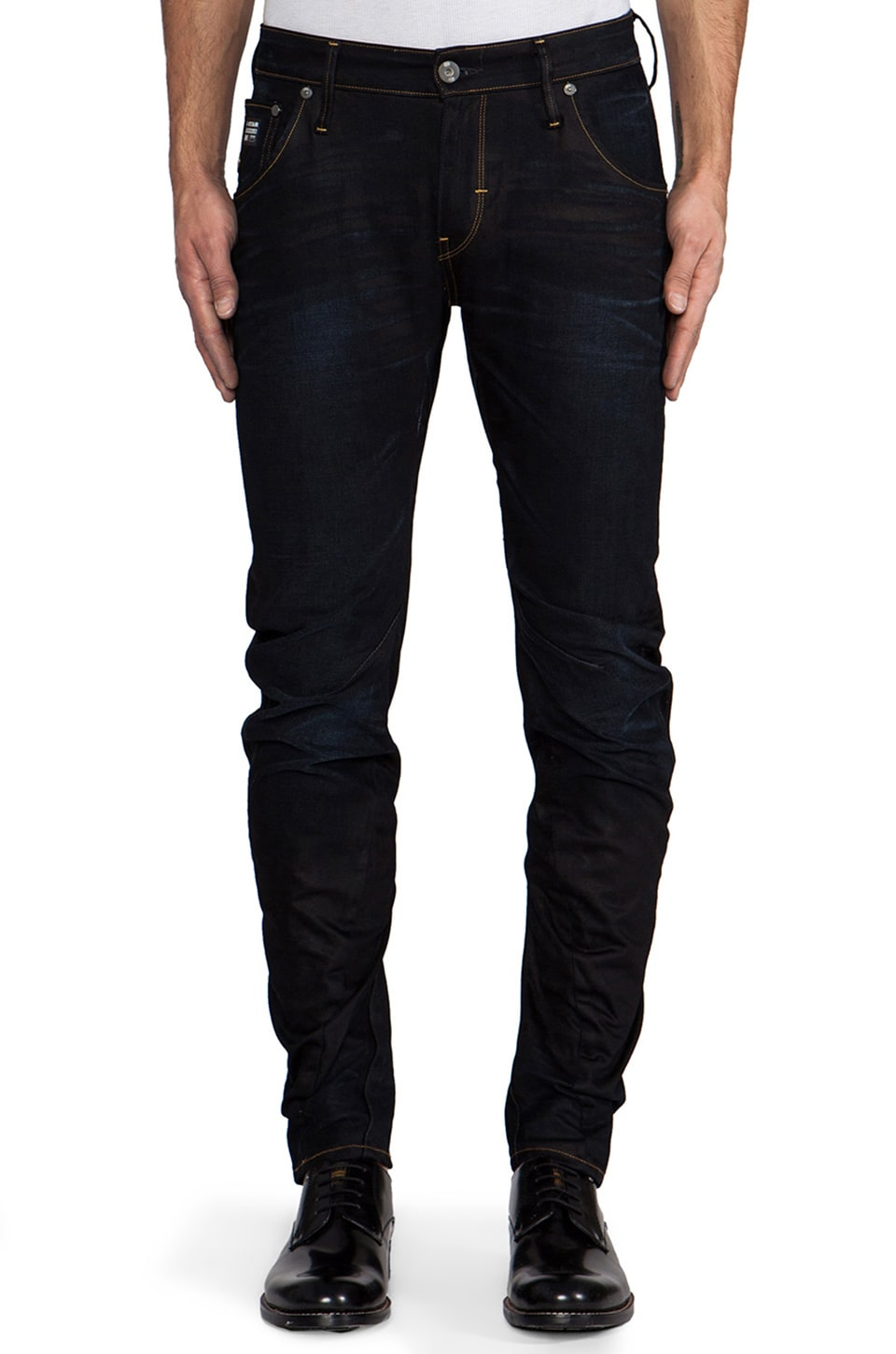 G-Star Arc 3D Slim in Lexicon Denim Indigo Aged