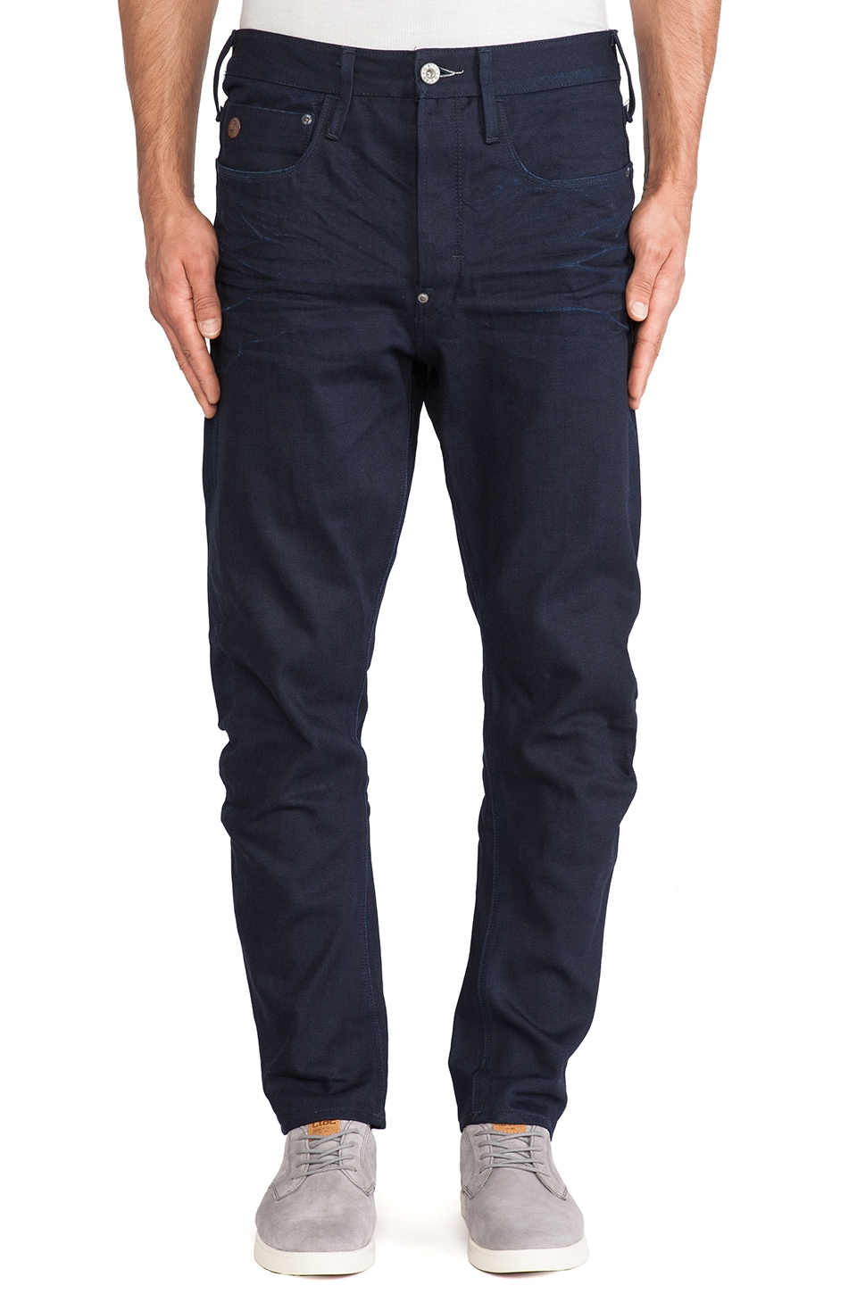 G-Star Type C 3D Loose Tapered Light Mazarine Denim in 3D Raw