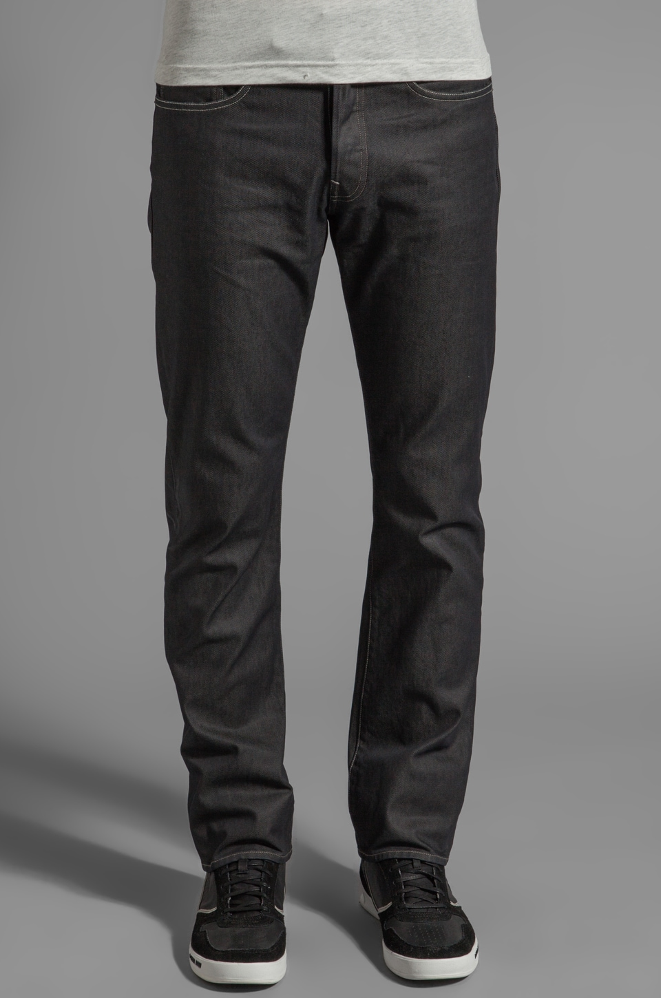 G-Star 3301 Straight in Brace Denim Raw