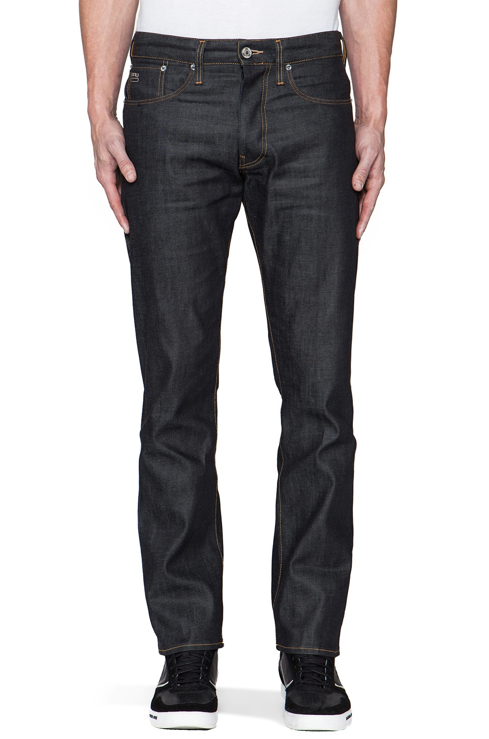 G-Star 3301 Straight in Brooklyn Denim Raw