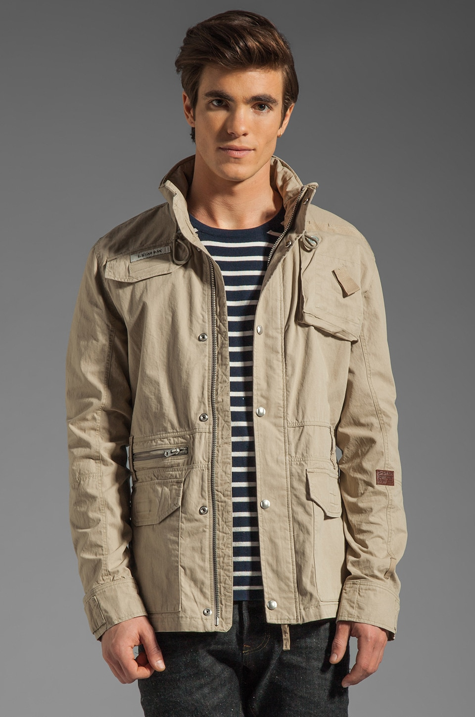 G-Star RCO Lockhart Field Jacket in Grege
