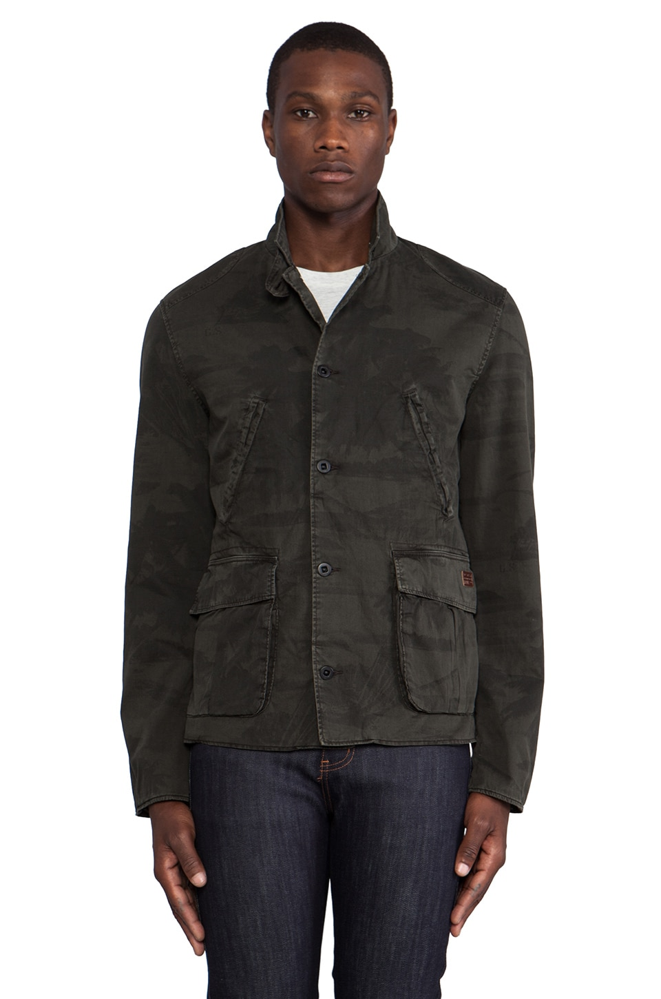 G-Star Norris Palm Blazer in Dark Combat