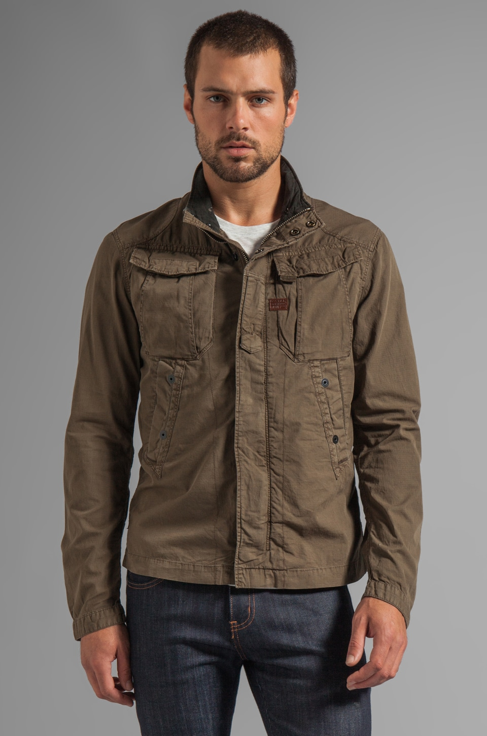 G-Star Zero Overshirt in Magma