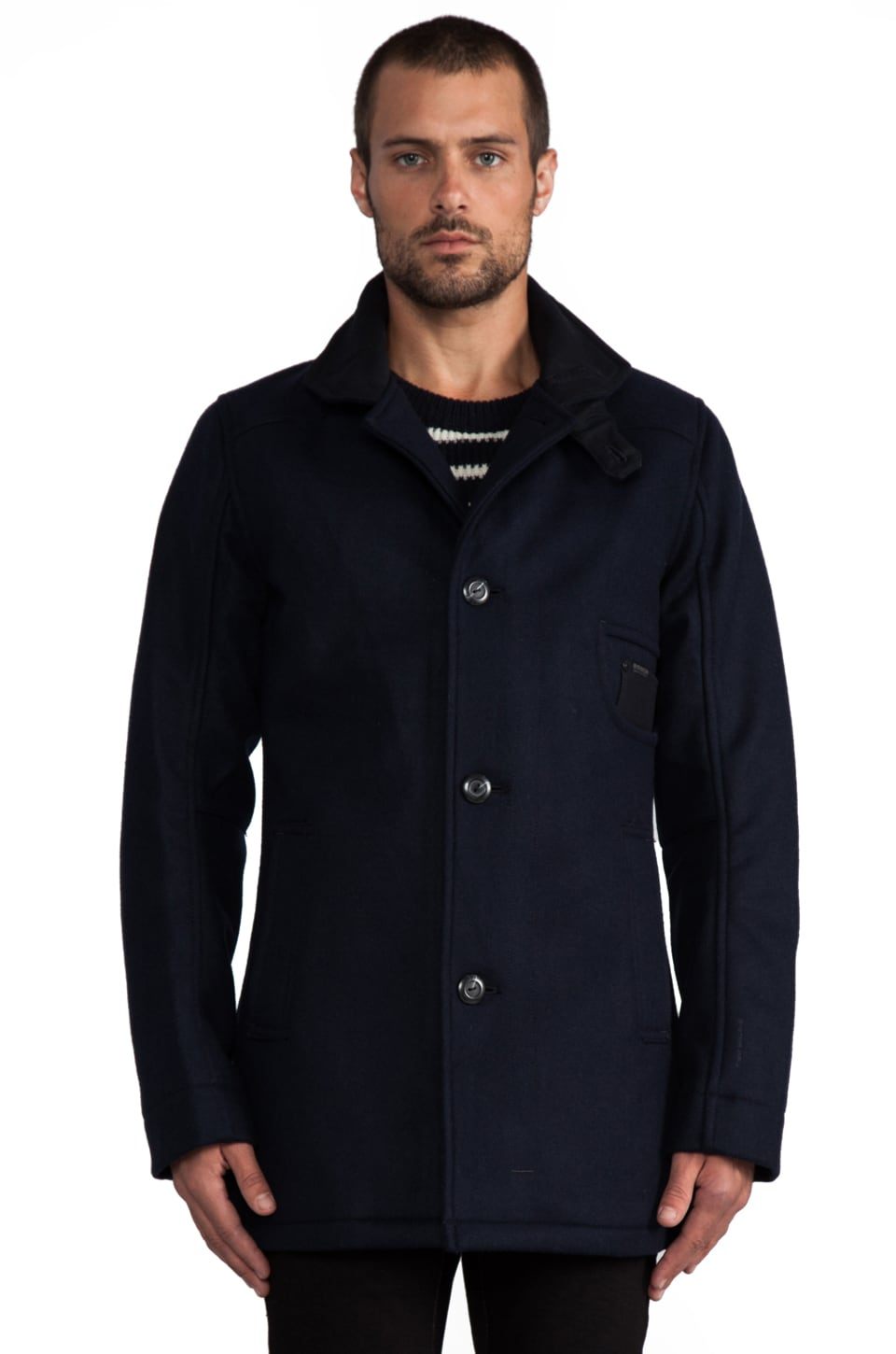 G-Star Raw Radar Garber Jacket in Mazarine Blue