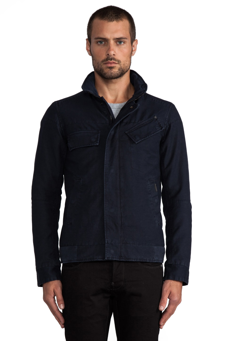 G-Star Raw Radar Jacket in Mazarine Blue