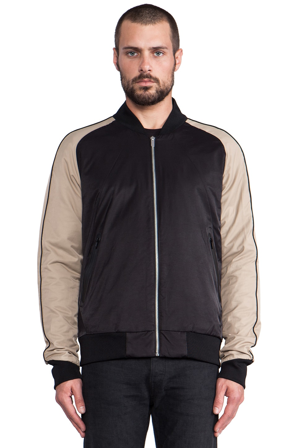G-Star x Marc Newson Tour Jacket in Black & Grege