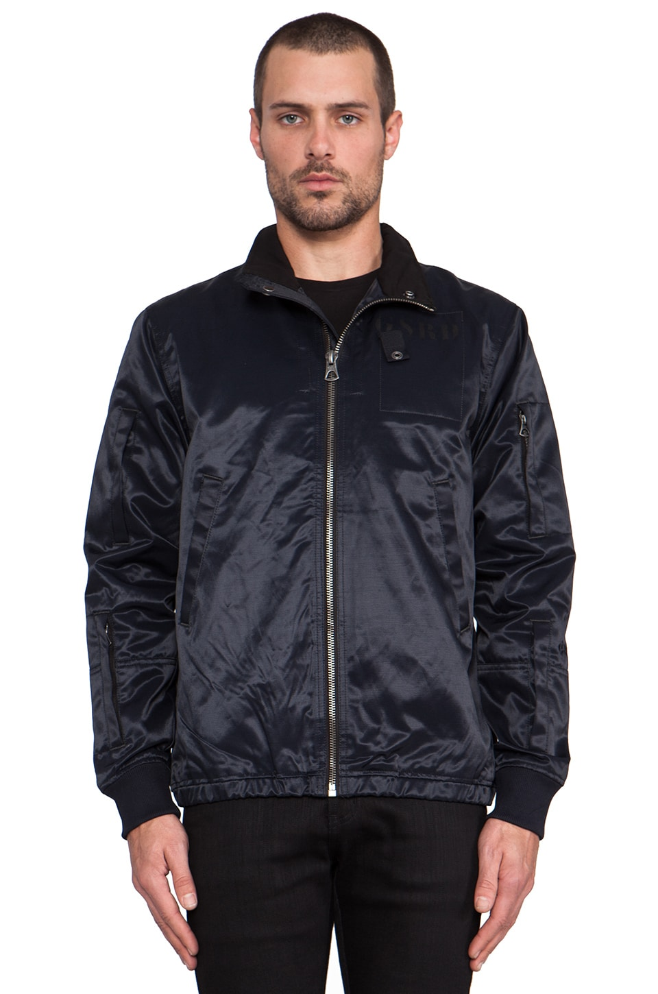 G-Star Martens Bomber in Mazarine Blue