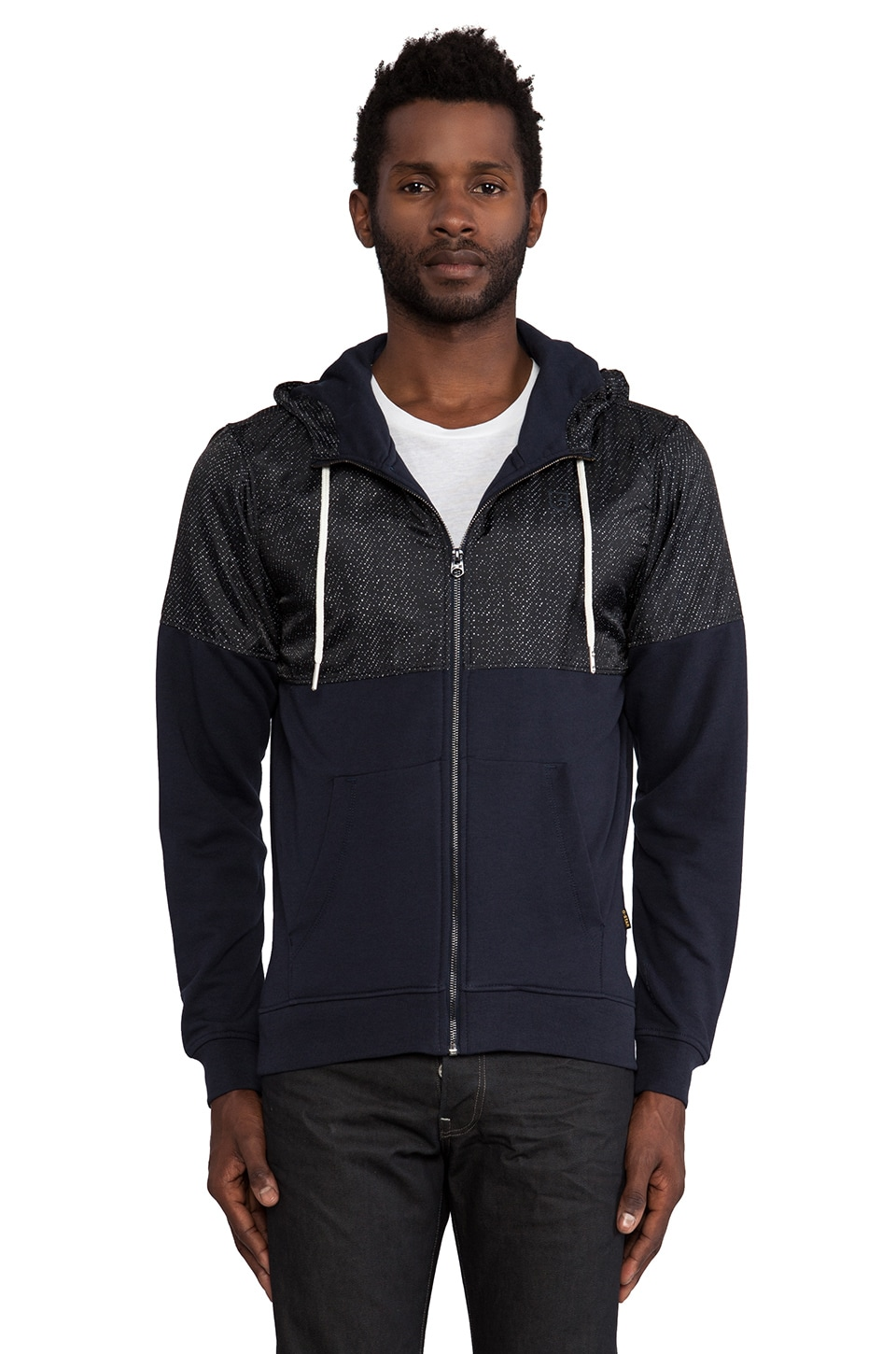 G-Star Jordan Hooded Vest Vancouver Sweatshirt in Raw