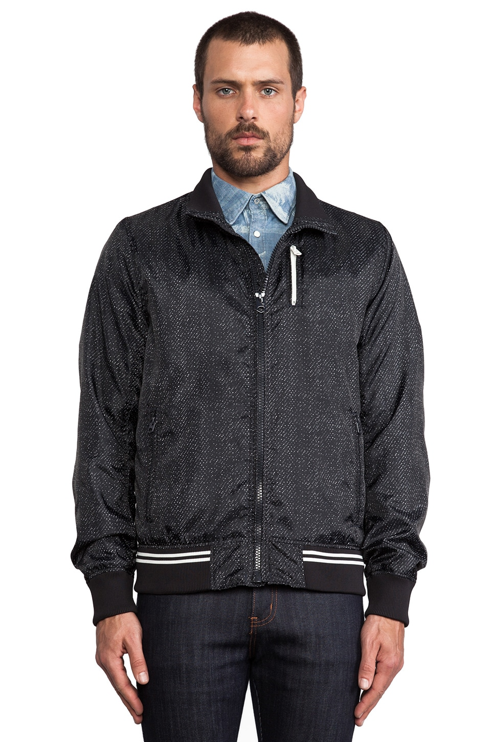 G-Star Tromp Baseball Bomber in Raw