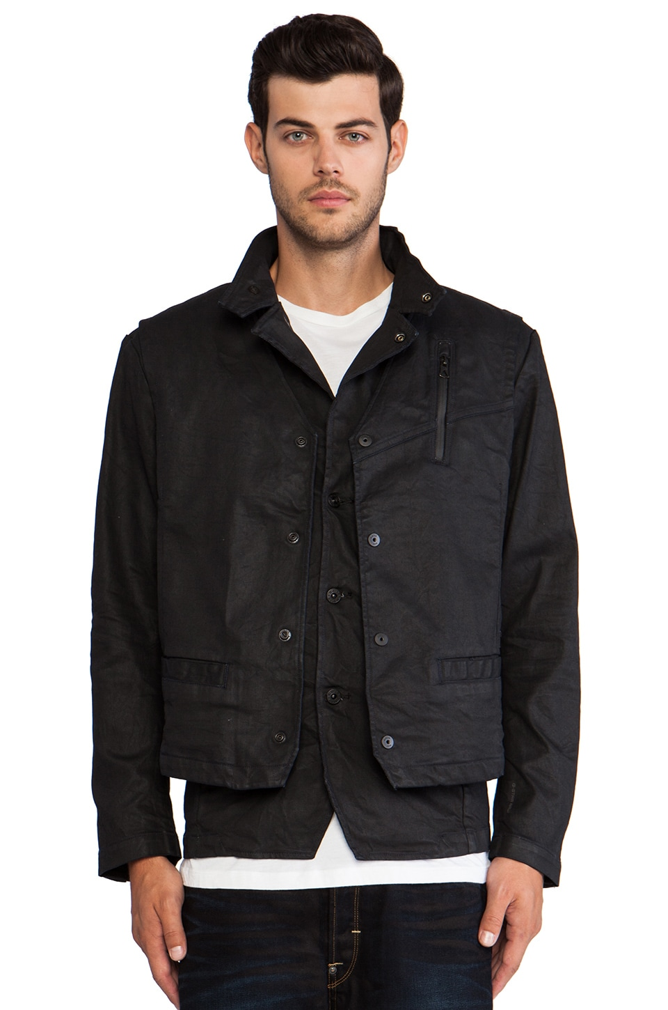 G-Star Kensetsu Blazer in 3D Dark Aged