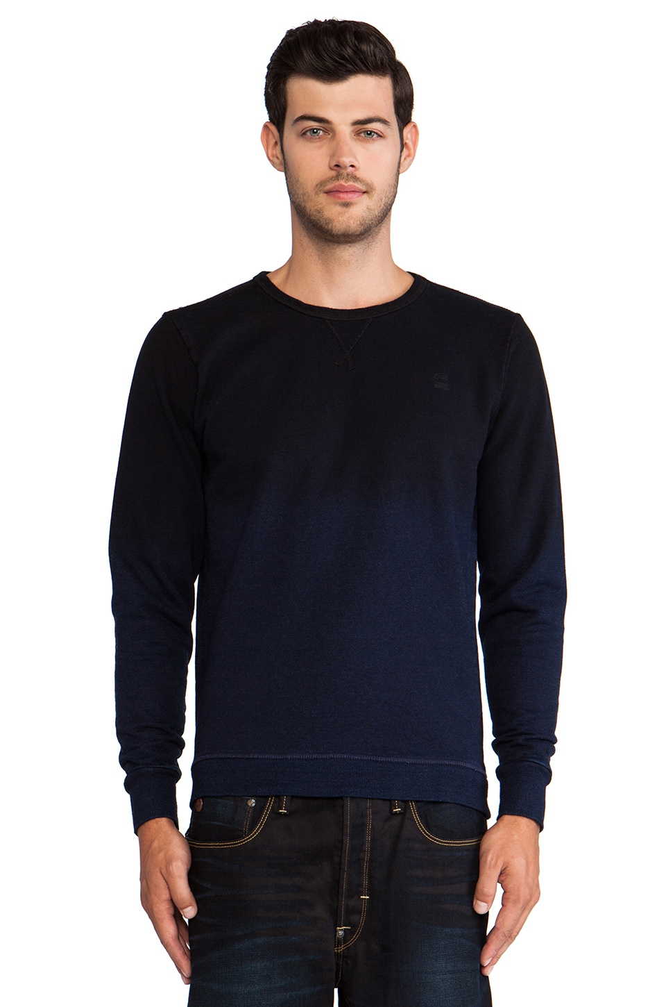 G-Star Dottlevel Sweatshirt in Indigo