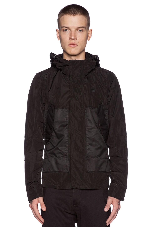 G Star Raw G star Bomber Men Jacket Size L 100% Nylon Black