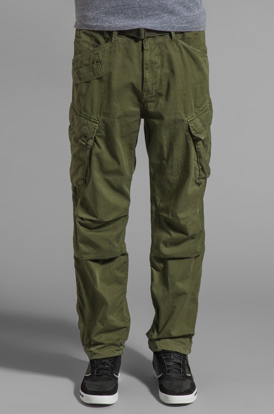 G-Star Rovic Loose Pant in Sage