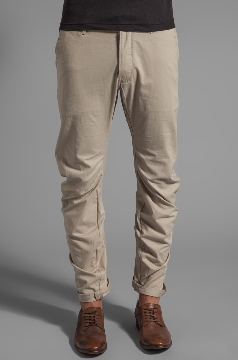 G-Star Correct Lens 3D Loose Tapered Pant in Khaki