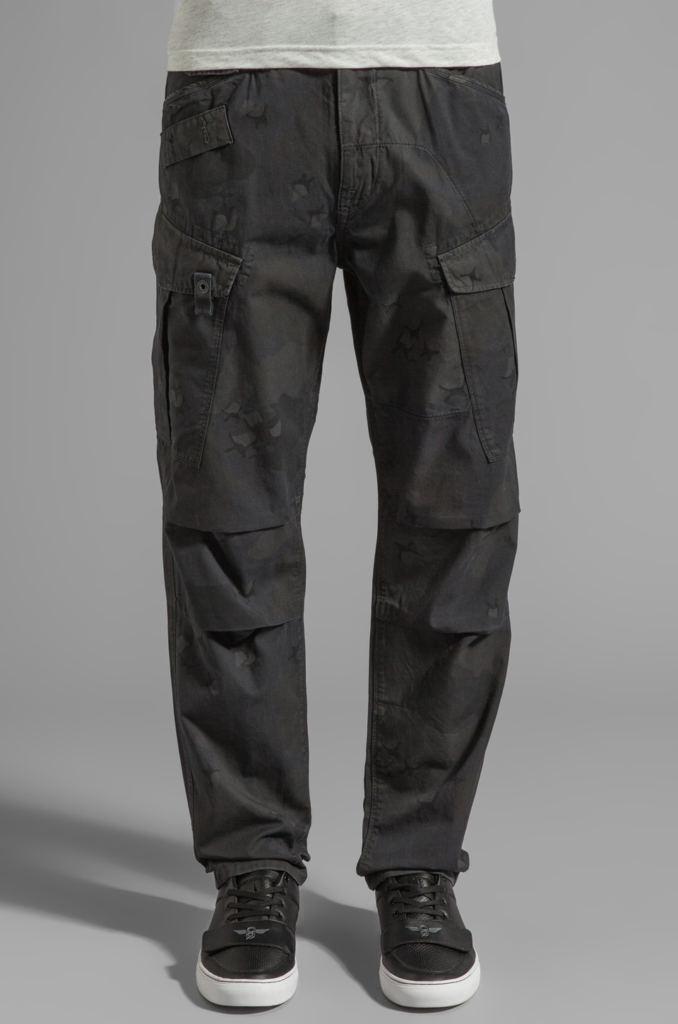 G-Star Rovic Camo Tapered Pant in MDF