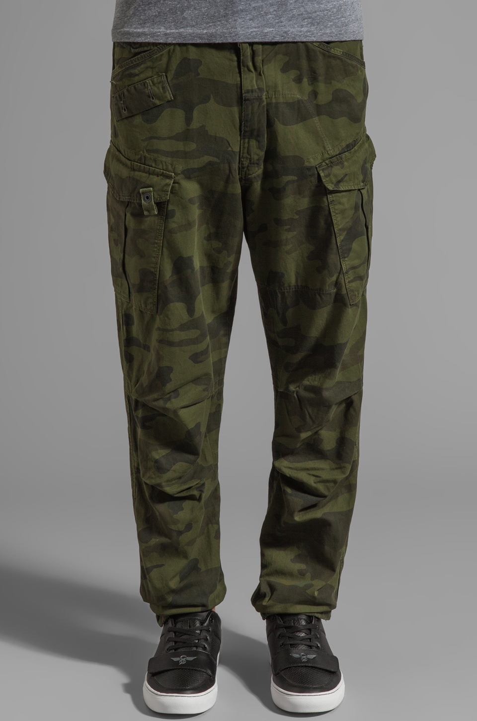 G-Star Rovic Extra Loose Tapered Pant in Bright Rovic Green
