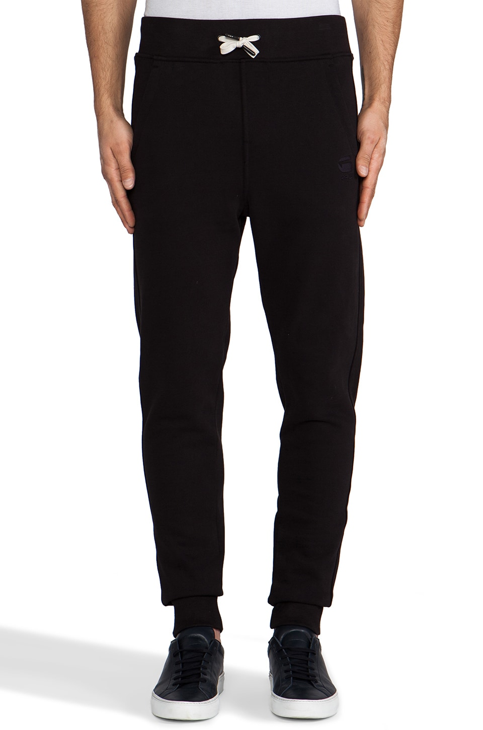 G-Star Navy Raw Sweatpant in Black