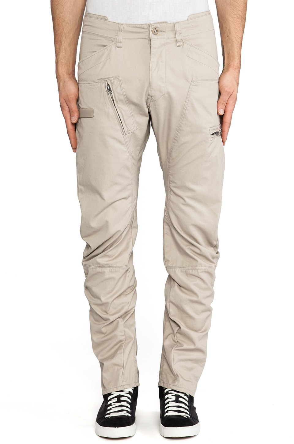 G-Star Powel Field 3D Tapered in Khaki