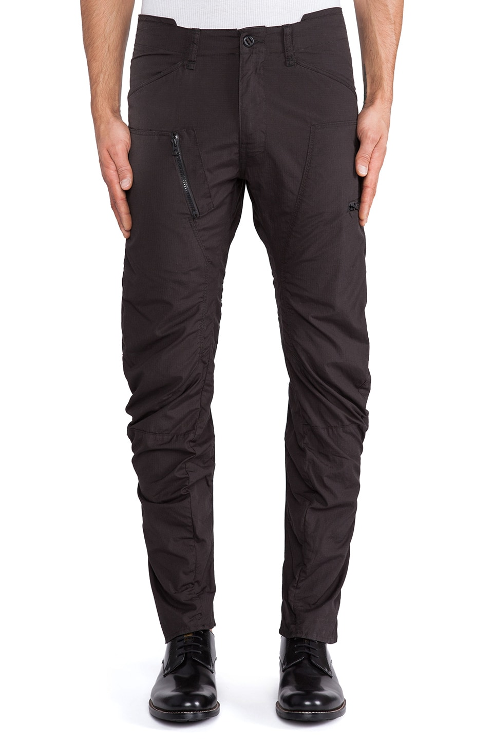 G-Star Powel 3D Tapered Cargo Pant in Raven