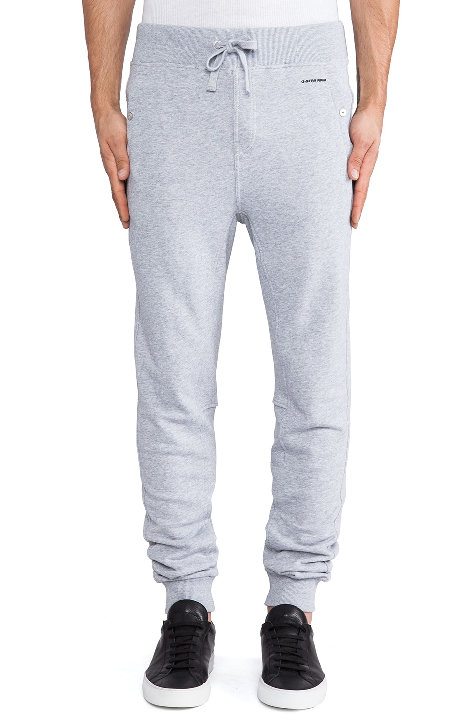 G-Star Sobeck Tapered Sweatpant in Grey Heather