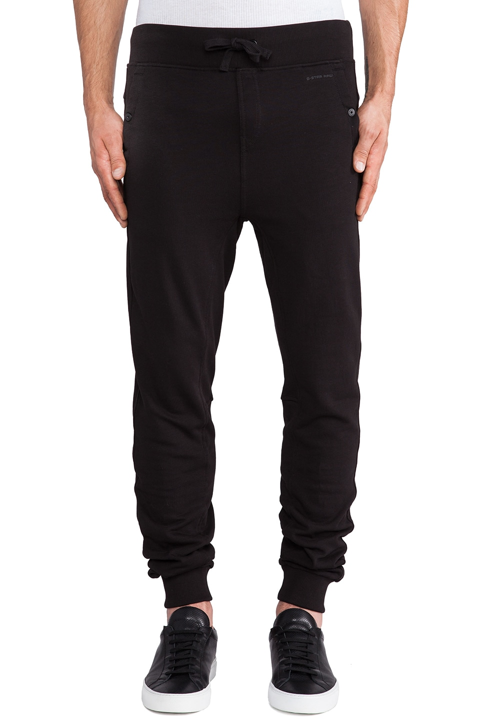 G-Star Sobeck Tapered Sweatpant in Black