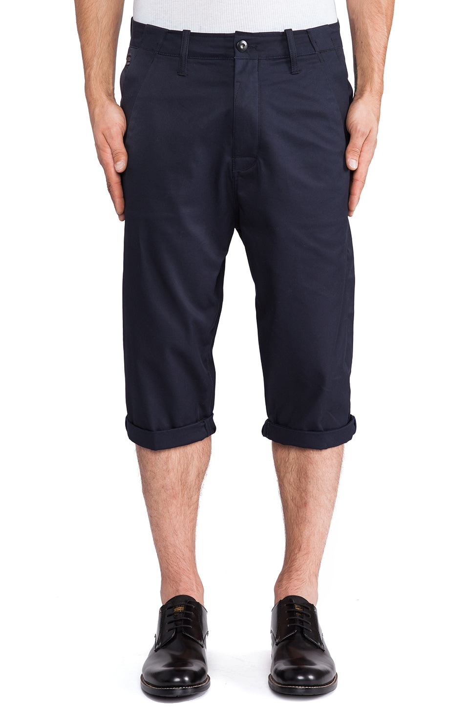 G-Star Correct Bronson Cropped Pant in Mazarine Blue