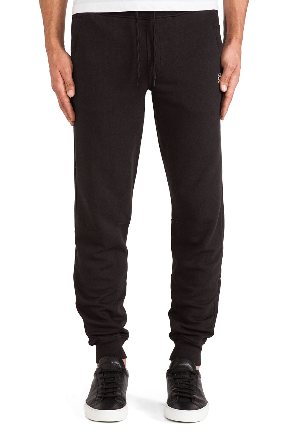 G-Star Wearlent Tapered Sweatpant in Black