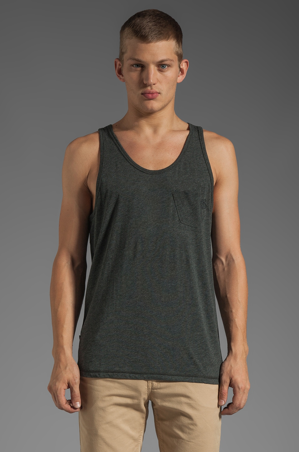 G-Star Ace Loose Tank in Raven