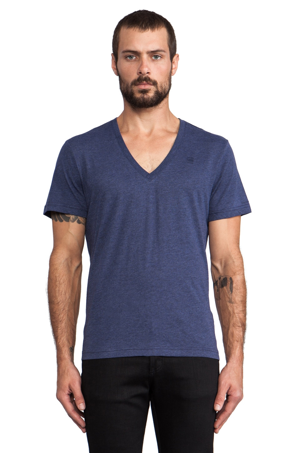 G-Star 2 Pack Crew Neck Tees in Shade