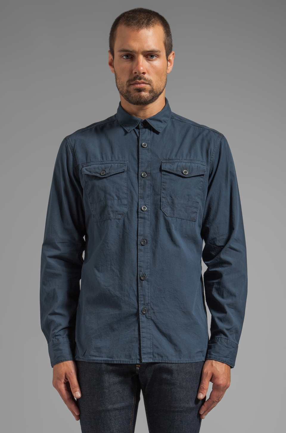 G-Star Mills Shirt in Japan Blue