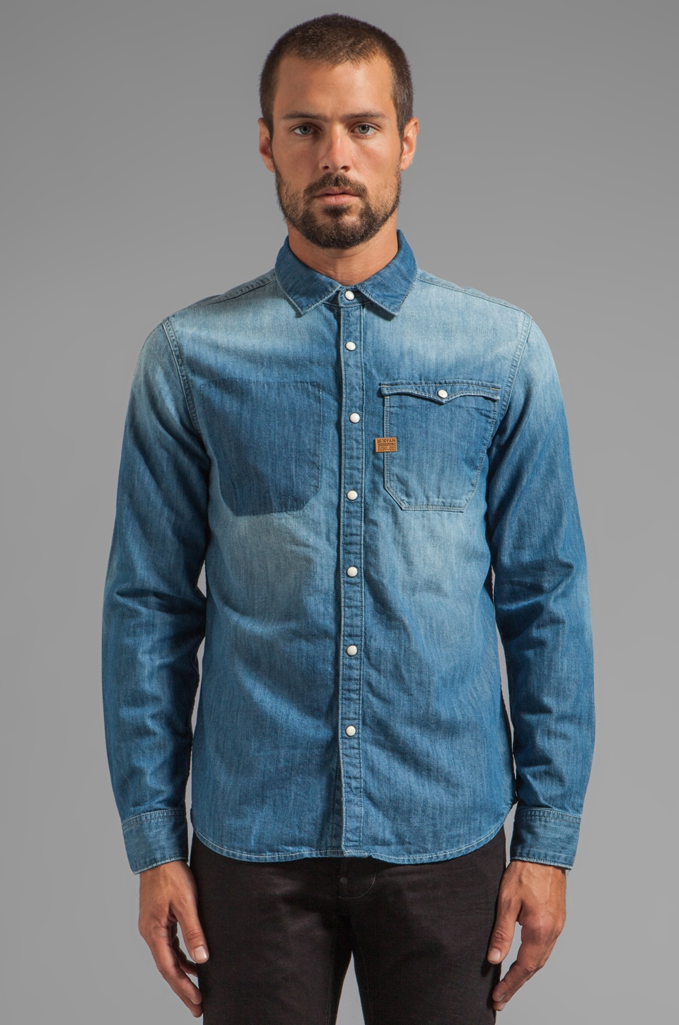 G-Star Hunter Vintage Shirt in Light Aged