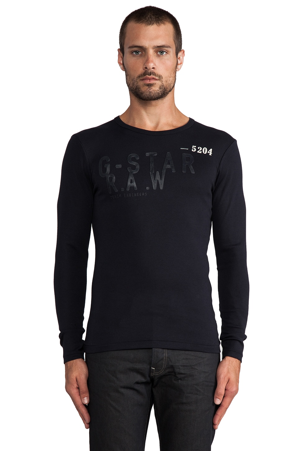G-Star Raw Radar R Long Sleeve in Mazarine Blue