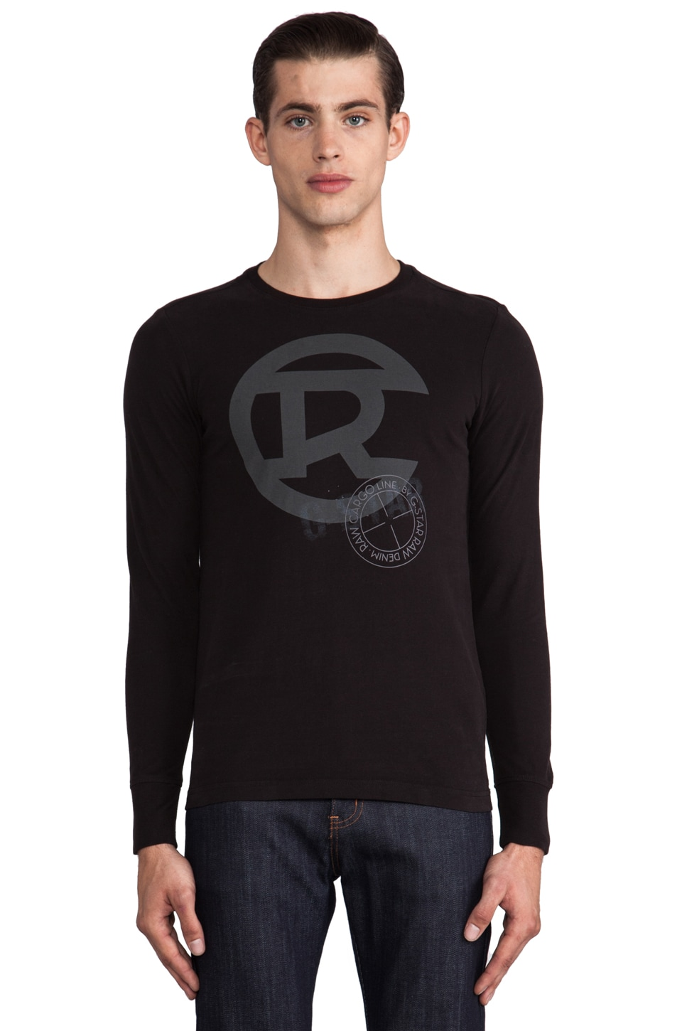 G-Star Byron R Long Sleeve in Black