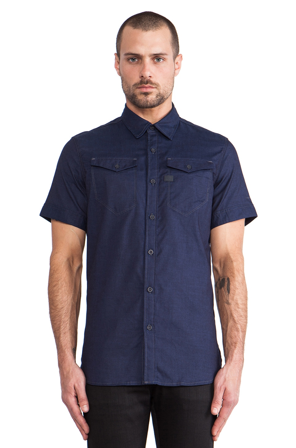 G-Star Tacoma Shirt Naco Denim in Raw