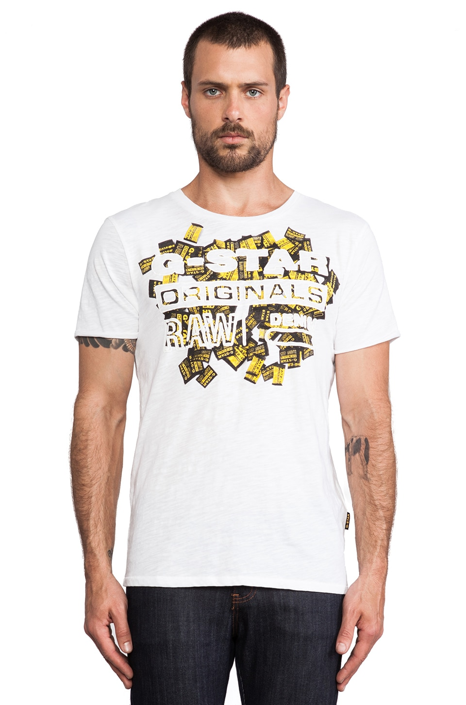 G-Star Holden T-Shirt in White