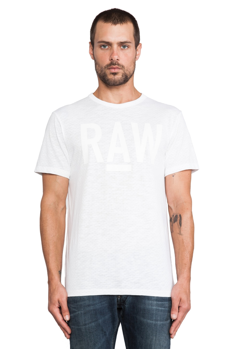 G-Star Terrams Tee in White