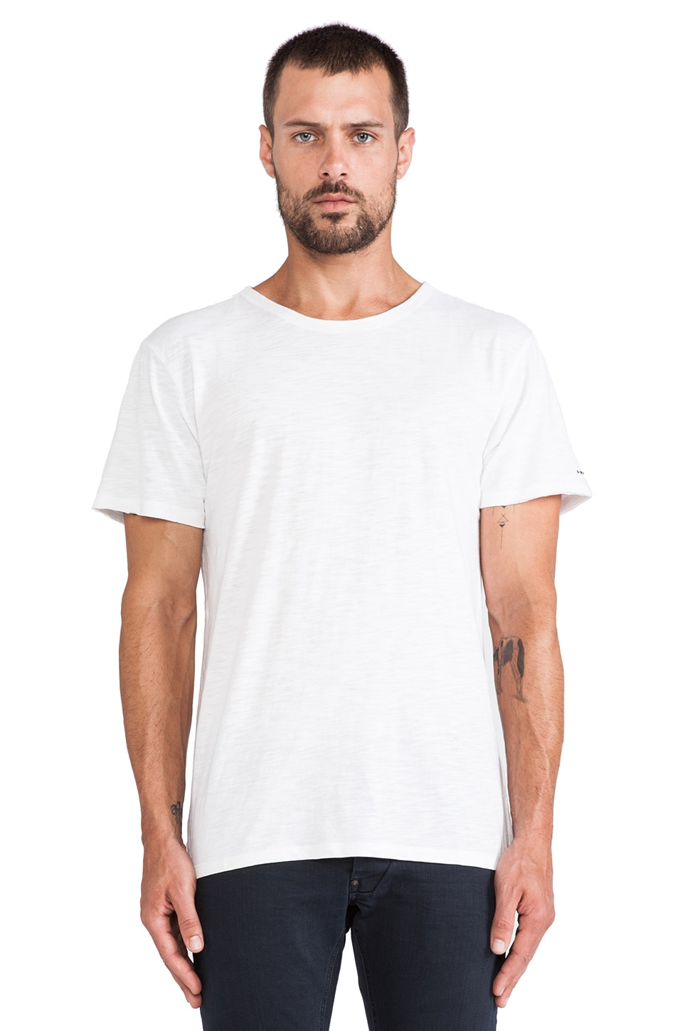 G-Star Relaxed Tee in White