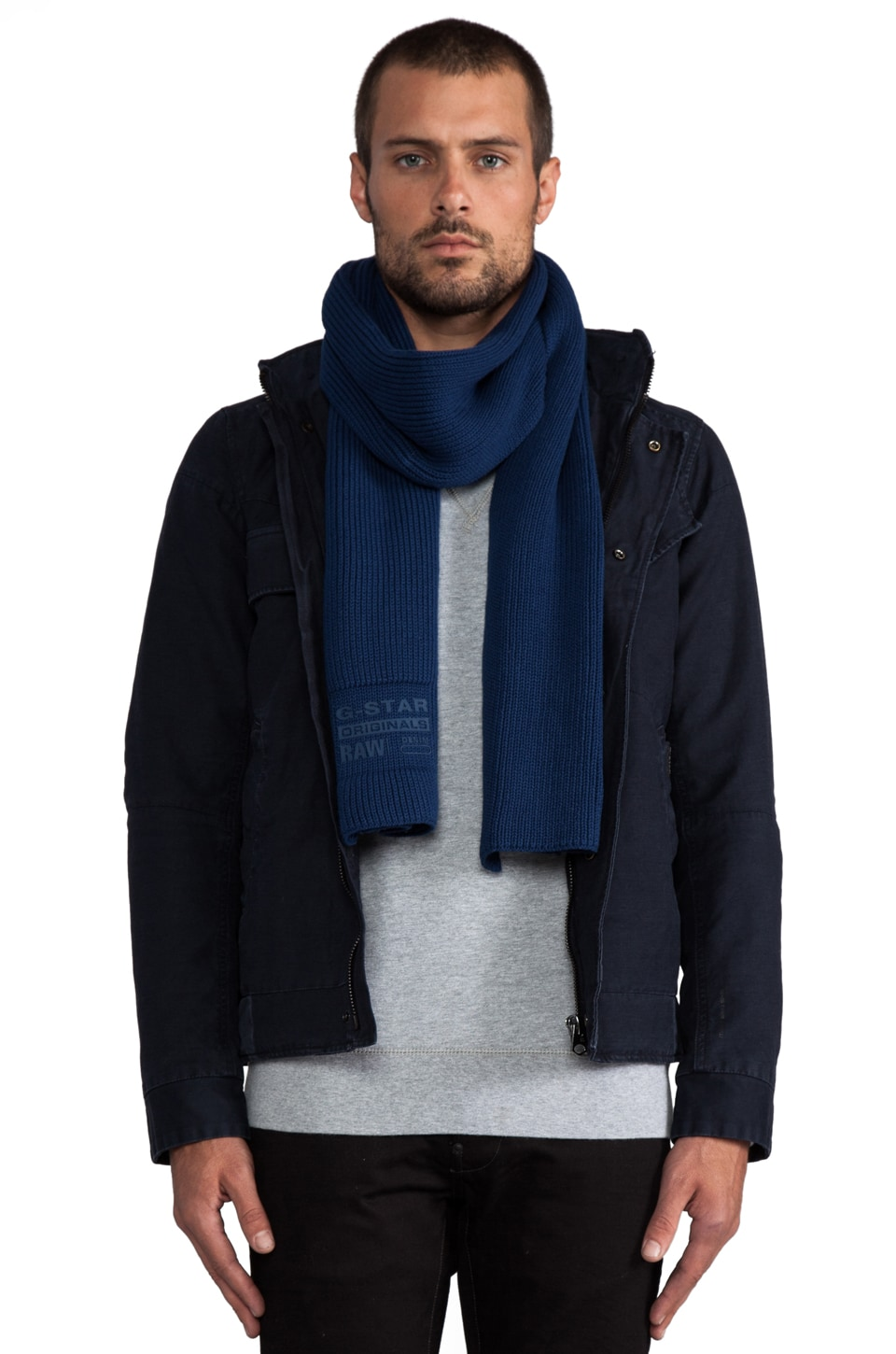 G-Star Milton Originals Scarf in Pacific