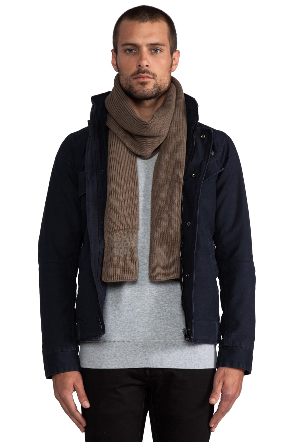 G-Star Milton Originals Scarf in Magma