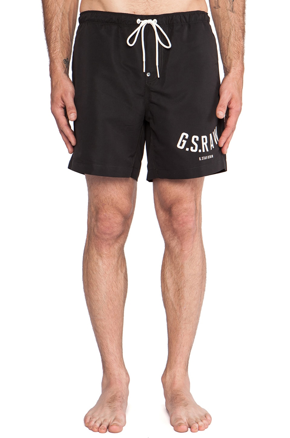 G-Star Pilon Beach Shorts in Black