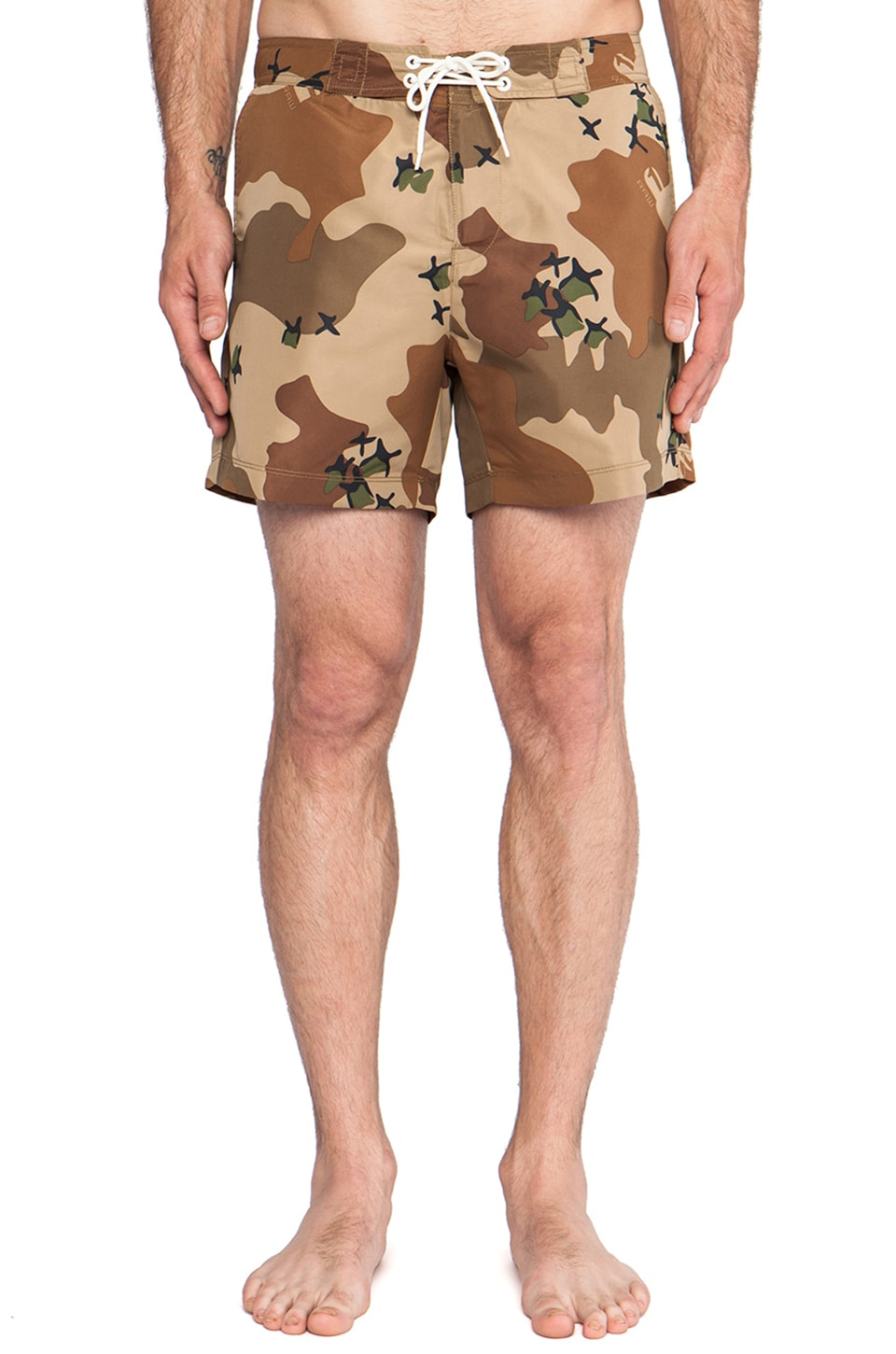 G-Star Jordan Swim Shorts Border Camo in Nomad