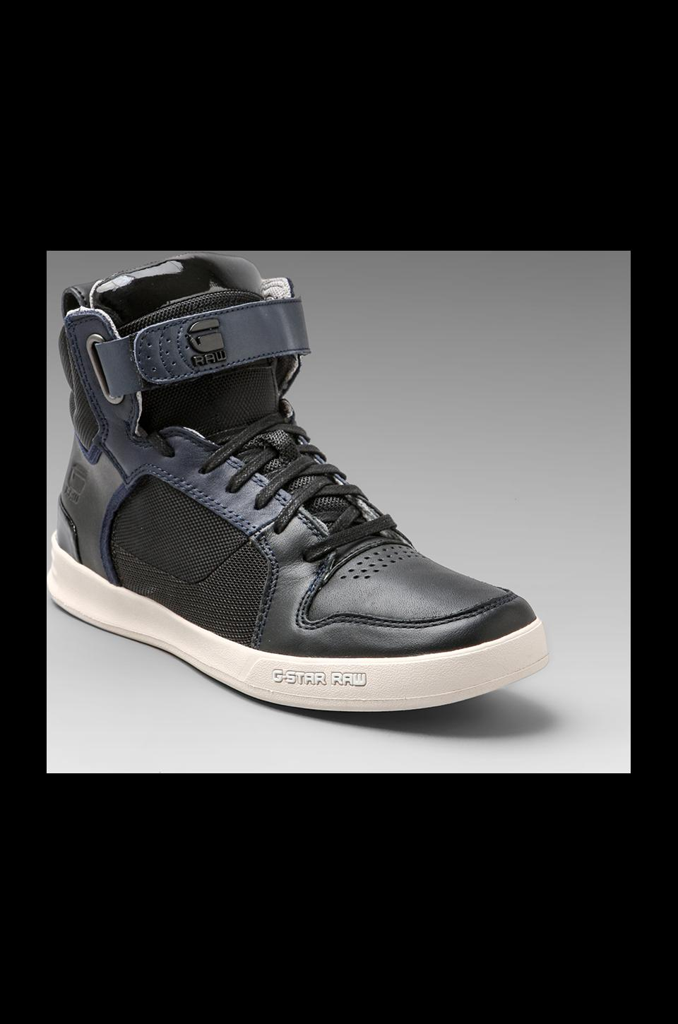 G-Star Yard Bullion in Black/Indigo/Black