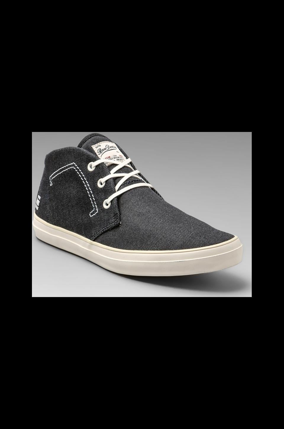 G-Star Stun Scupper Denim in Black Denim/Black Mesh