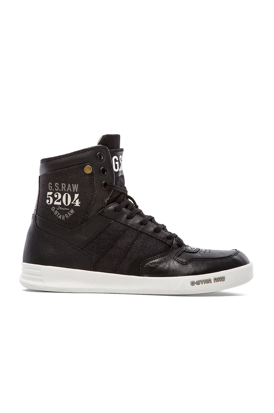 G-Star Yard Skirmish II Hi in Black &  Denim