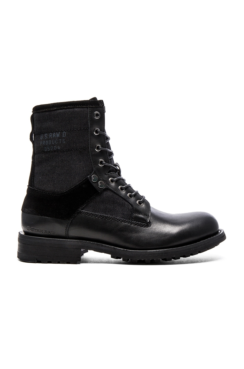 G-Star Patton V Marker Mix in Black Leather Denim