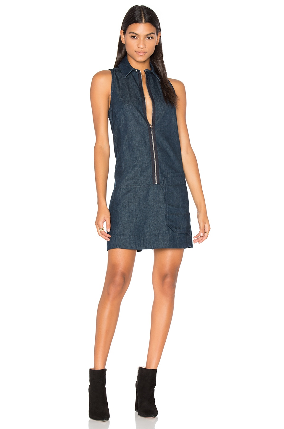 Blake Zip Front Dress by G-Star