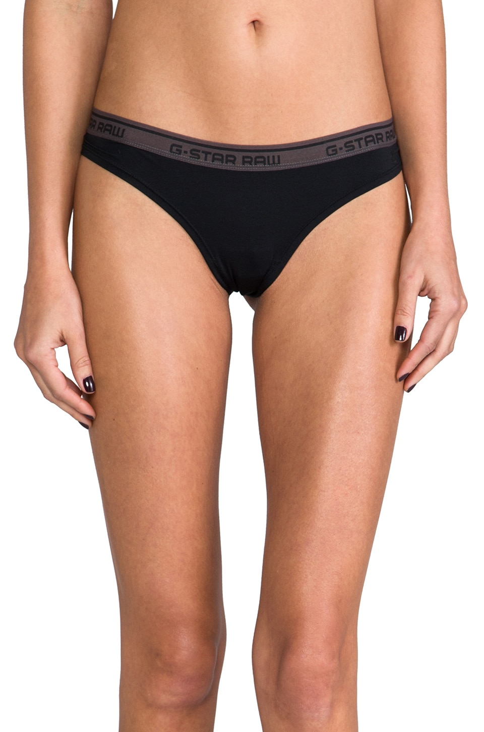 G-Star Thong Underwear in Black