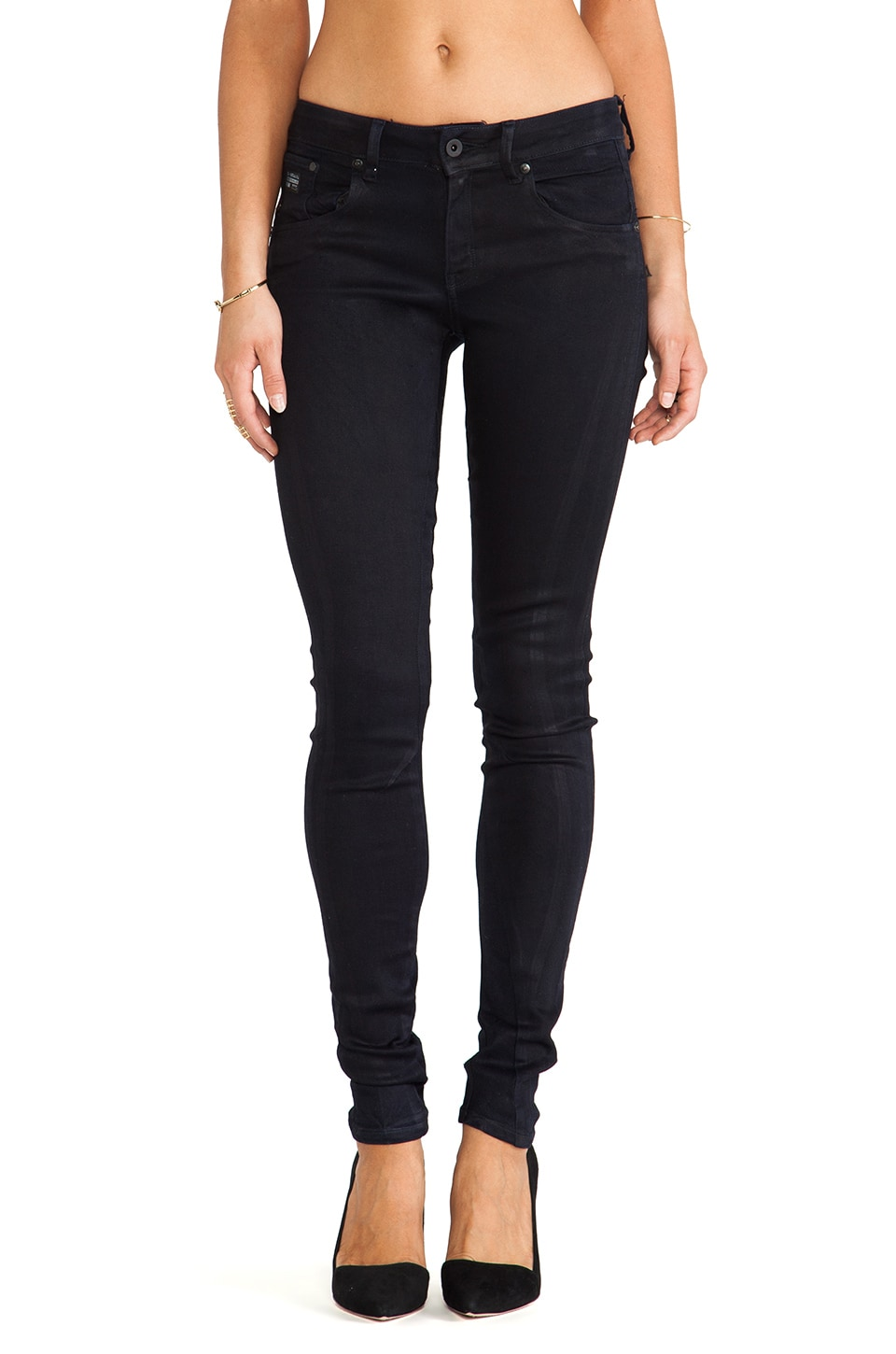 G-Star Arc 3D Jeg Skinny Ultimate Stretch Alycon Cobler Dark Navy