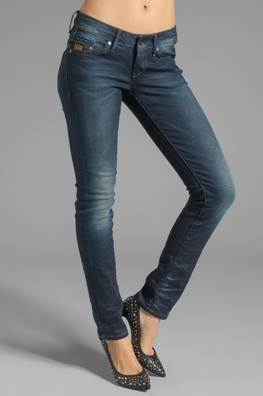 G-Star Midge Skinny in Comfort Sierra Denim Track Wash