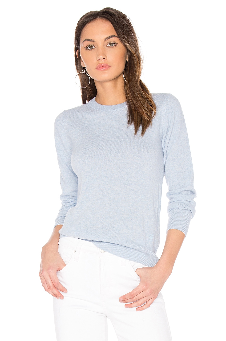 Core Long Sleeve Knit Sweater by G-Star